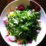 Roasted Beet and Chevre Salad