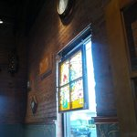 Cool stained glass art and plenty of mood.