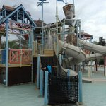 kids area of waterpark
