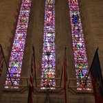 Stained-glass side-by-side...