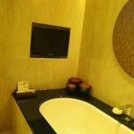 TV in bathroom