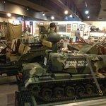 Patton Memorial Museum inside