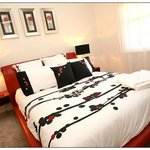 Tastefully decorated rooms