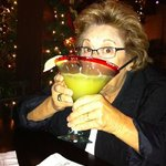 Sipping on Mission Inn Perfect Margarita