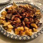 Pork Alentejana - delicious!