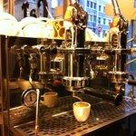 Kaffeemaschine im CaT