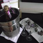 Champagne and Chocolate platter