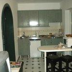 bungalow  vue d'ensemble , cuisine