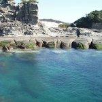 日置の千畳敷 岩の造形美