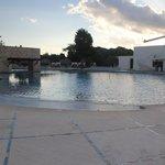 Una de las 3 piscinas