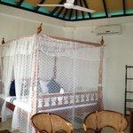 top floor beach front bungalow room