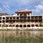View from Sungai Melaka