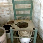 inside slave cabin - no running water or electric