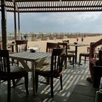 Matställe vid stranden