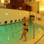 piscine chauffée à 29°