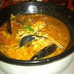 arroz de cigalas del menú