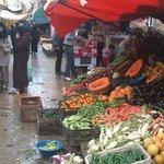 Medina de Meknès. Puesti de verdura