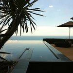 our infinity pool in the Cielo residence