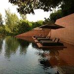 main resort pool area