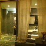 Salle de Bain/Suite Sa Majesté la Rose
