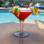 Have a glass of sangria at the pool