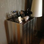 Minibar and Nespresso Machine