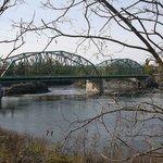 "Frank J. Wood (""Green"") Bridge seen from Topsham"