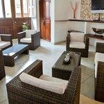 Lobby de nuestro Hotel Casa Los Puntales