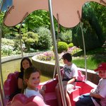 Cool little water ride through the gardens.