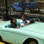 Ride in classic cars