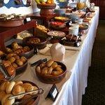 el desayuno...