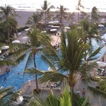Pool area from our oceanview room