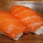 nigiris de salmon!