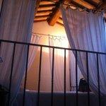 il letto nella suite