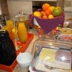 il self service della colazione