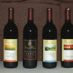 A selection of our wines