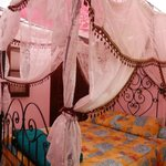 My pink four poster