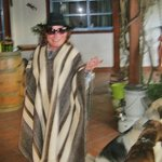 Me, ready to Rodeo, Chilean-style! :-)