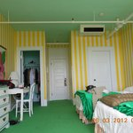 Each room is decorated different
