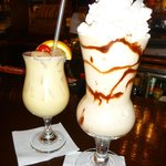 Painkiller on the left and Bushwacker on the right
