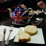 Excellent scones and tea