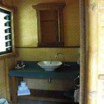 indoor sink and toilet.
