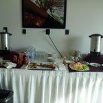 servicio de desayuno durante el curso