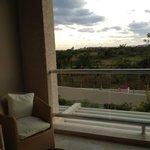 View towards Playa del Carmen from room