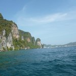 Boat ride to Phi Phi
