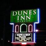 Dunes Inn Sunset at night