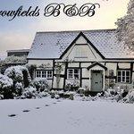 Harrowfields in the snow
