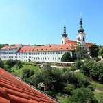 There is a unique dominant of the Petrin park – old Strahov monastery situated within easy reach