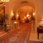 Ritz Hotel London - lobby next to the Palm Court