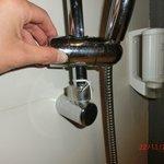 shower head adjustment (broken)